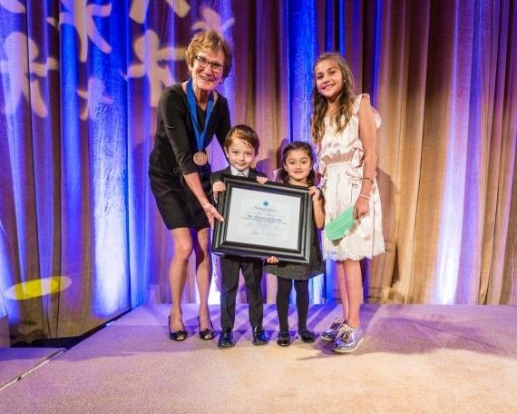 World of Children organization honors Dr. Elizabeth Jones