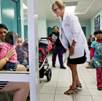 Betty Jones: She crosses borders to bring health care to some of Mexico's most vulnerable children